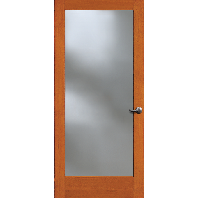 French Door 1 Lite Ovolo Sticking No Glass Fo1501