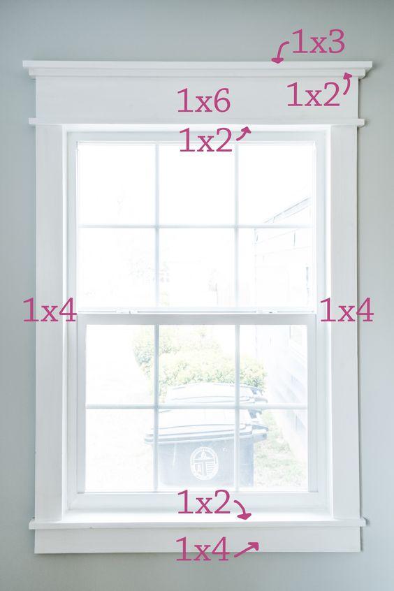 Craftsman Style Window Trim Socaltrim Discount Molding Millwork